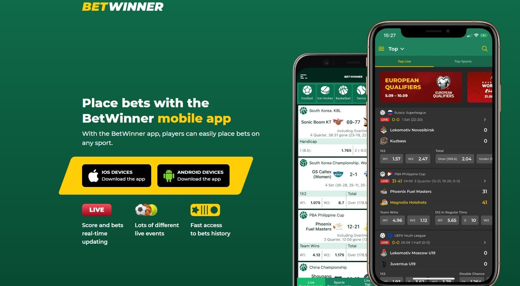betwinner казино мобилно приложение
