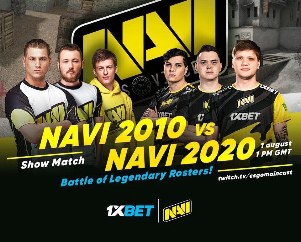 NAVI e-sports 1xBet