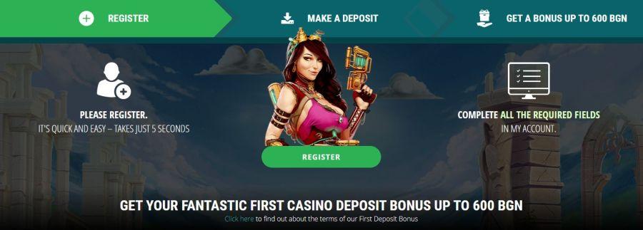 22bet начален бонус казино